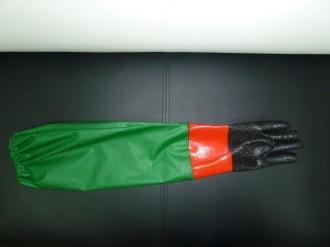 длинные резиновые перчатки до плеч для рыбалки