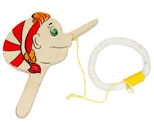 Развивающая игрушка ежик подбрось и поймай